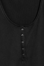 Henley shirt - Black - Ladies | H&M 3