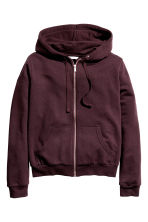 Kapüşonlu Sweatshirt - Bordo - Ladies | H&M TR 2