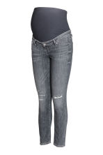 MAMA Skinny Ankle Jeans - Grey denim - Ladies | H&M CN 2