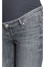 MAMA Skinny Ankle Jeans - Grey denim - Ladies | H&M CN 4