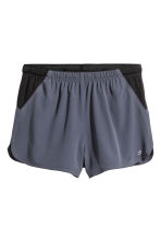 Shorts da running - Grigio-blu scuro - UOMO | H&M IT 2