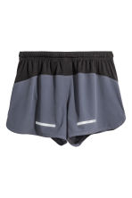 Running shorts - Dark grey-blue - Men | H&M 3