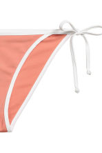 Bikini bottoms - Apricot/White - Ladies | H&M CN 3