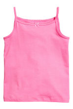 Lot de 2 tops - Rose - ENFANT | H&M FR 2