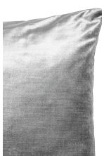 Velvet cushion cover - Grey - Home All | H&M CN 2