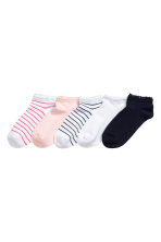 5-pack ankle socks - Dark blue - Kids | H&M CA 1