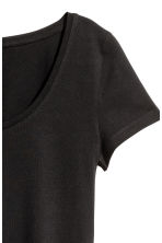 Jersey top - Black - Ladies | H&M 4