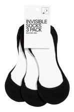 3-pack mini socks - Black - Ladies | H&M 1