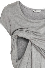 MAMA Nursing top - Grey/Love - Ladies | H&M 3