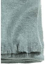 Soft blanket - Grey green - Home All | H&M CN 3