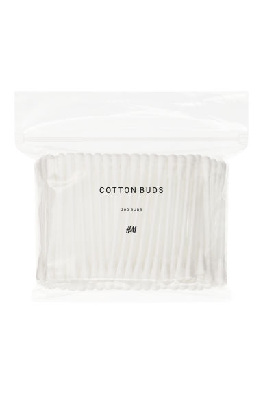 Cotton buds - White - Ladies | H&M CA 1