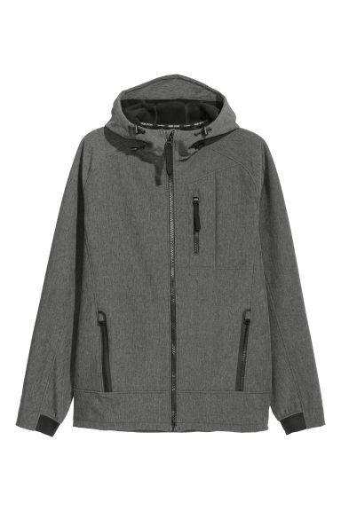 保暖外套 - Grey marl - Men | H&M
