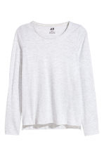 2-pack tops - Raspberry pink/Light grey -  | H&M 3