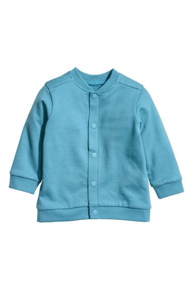 Cardigan in felpa - Turchese - BAMBINO | H&M IT