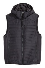 Padded bodywarmer - Black - Men | H&M GB 2