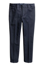 Suit trousers - Dark blue - Kids | H&M CN 2