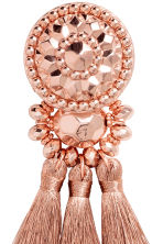 Earrings with tassels - Rose gold - Ladies | H&M 2