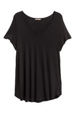 H&M+ Jersey top - Black - Ladies | H&M 2