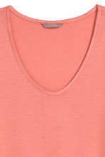 H&M+ Jersey top - Coral - Ladies | H&M CN 2