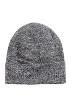 Knitted hat - Black marl - Ladies | H&M 1