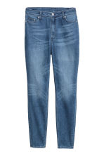 H&M+ Skinny High Jeans - Denim blue - Ladies | H&M IE 2