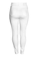 H&M+ Skinny High Jeans - White denim/Trashed - Ladies | H&M CA 3