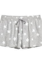 Pyjamas with top and shorts - Grey Wonder Woman - Ladies | H&M 3
