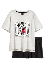 Gri-deschis/Mickey Mouse