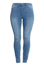 H&M+ Superstretch-Treggings - Blau/Gewaschen - DAMEN | H&M CH 2