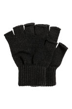 2-pack fingerless gloves - Black - Men | H&M 2