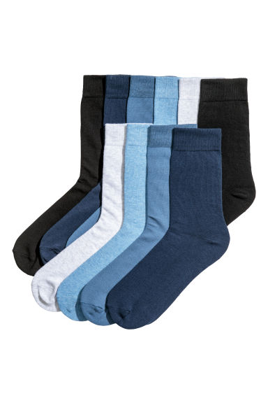 10-pack socks - Blue/Grey - Men | H&M CN
