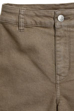 Shorts High waist - Khaki - Ladies | H&M 3