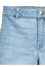 Shorts High waist - Light denim blue - Ladies | H&M CN 4