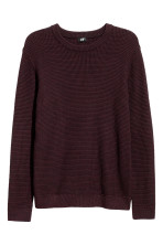Burgundy/Black marl