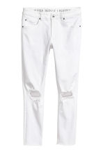 Super Skinny Ankle Jeans - White - Men | H&M 2