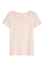 Jersey top - Powder marl -  | H&M 2