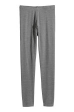 2-pack leggings - Dark gray/gray -  | H&M CA 3
