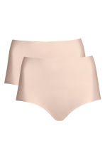 2-pack light shaping briefs - Chai - Ladies | H&M 2