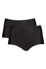 2-pack light shaping briefs - Black - Ladies | H&M 2