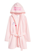 Dressing gown - Light pink - Kids | H&M 1