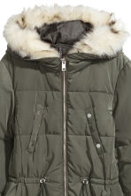 Padded jacket - Khaki green - Ladies | H&M CN 2