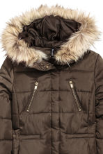 Padded jacket - Brown - Ladies | H&M CN 2