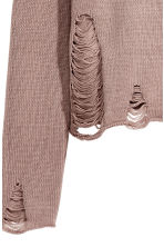 Hooded jumper - Taupe - Ladies | H&M CA 3