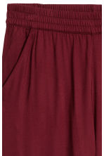 Pull-on trousers - Burgundy - Ladies | H&M 3