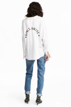 Boyfriend Slim Low Jeans - 牛仔蓝 - 女士 | H&M CN 4