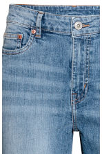 Boyfriend Slim Low Jeans - Denim blue - Ladies | H&M CN 5