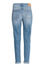 Boyfriend Slim Low Jeans - Denim blue - Ladies | H&M CN 3