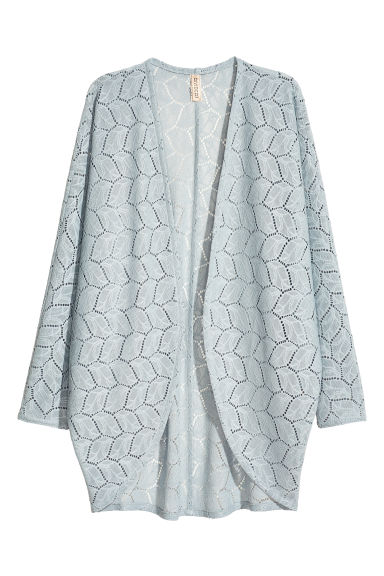 蕾丝开衫 - Light grey - Ladies | H&M CN 1