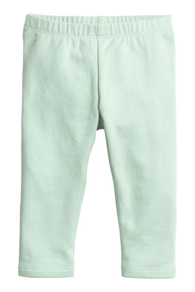Sweatshirt leggings - Mint green - Kids | H&M