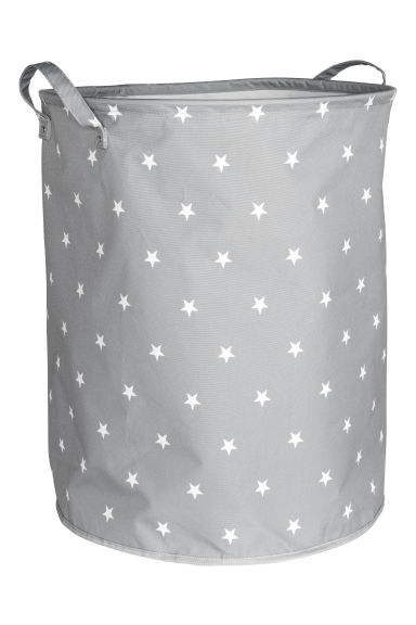 Large storage basket - Grey/Stars - Home All | H&M CN 1